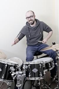 Oliver Leggewie, am Schlagzeug bei Rhythmik Musik&Bewegung