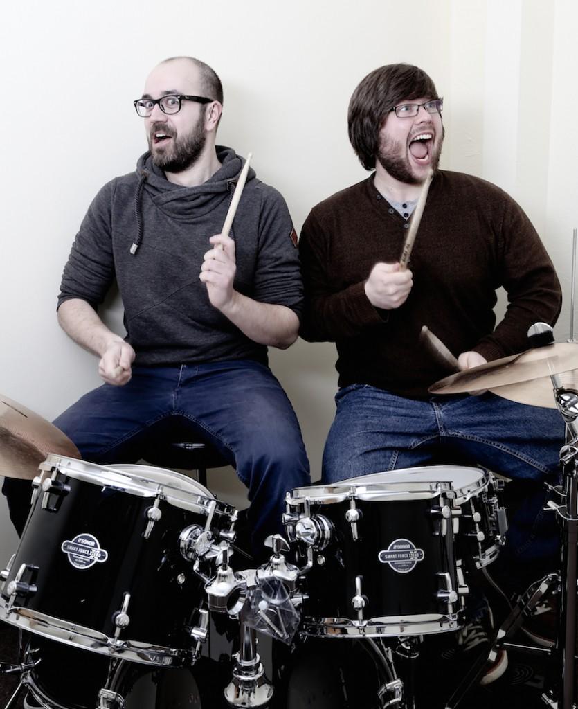 Schlagzeugunterricht mit Jan und Oliver @ Musikschule Wallenhorst